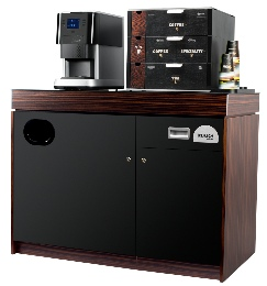 FLAVIA Creation 500 Base Cabinet and Work Café Merchandiser