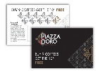 Piazza D'Oro Café Support - Loyalty Cards