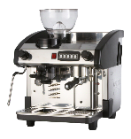 Expobar New Elegance 1 group traditional espresso machine with integral grinder