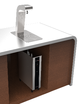 Marco Eco Range Under Counter Water Boiler & Uber Font Counter Top Tap