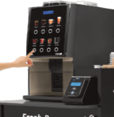 Coffetek Vitro S1 with Contactless Pay Pod